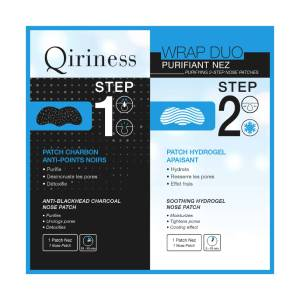 Qiriness Wrap Duo Purifiant Nez