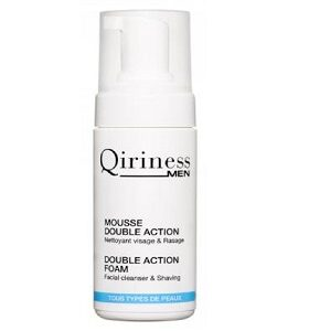 Qiriness MEN MOUSSE DOUBLE ACTION